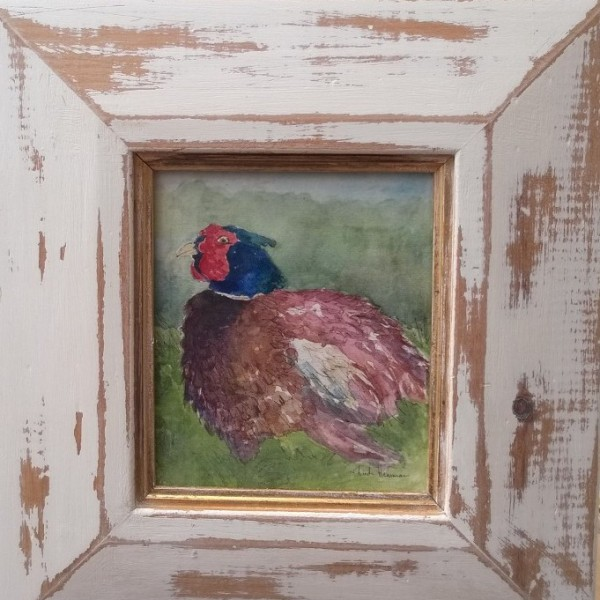 Dos Watercolour Pheasant